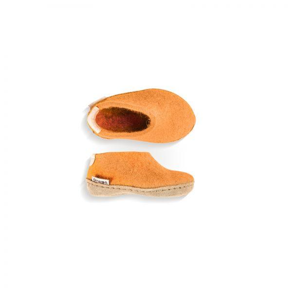 Glerups Sko Barn - Orange